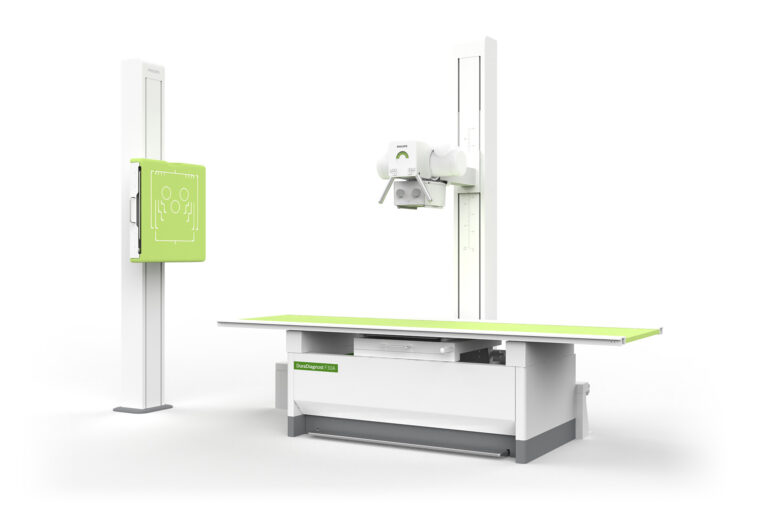 DXR - DuraDiagnost F30 product table wall stand